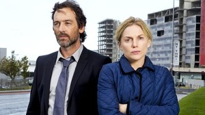 Eva Birthistle and David Murray as Sarah and Ben Bailey in RTE's Amber